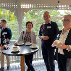 Networking is an integral part of studying Sustainable Energy at UQ
